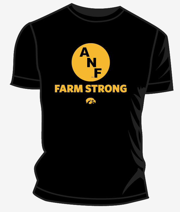 Iowa Hawkeye ANF Farm Strong Tee