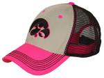 46 Blaze pink cap