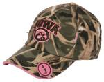 47 Spears camo pink cap
