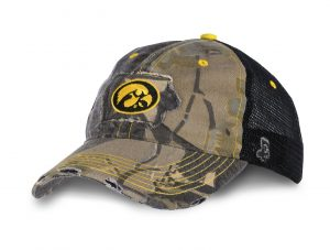 HA camo golf anf cap