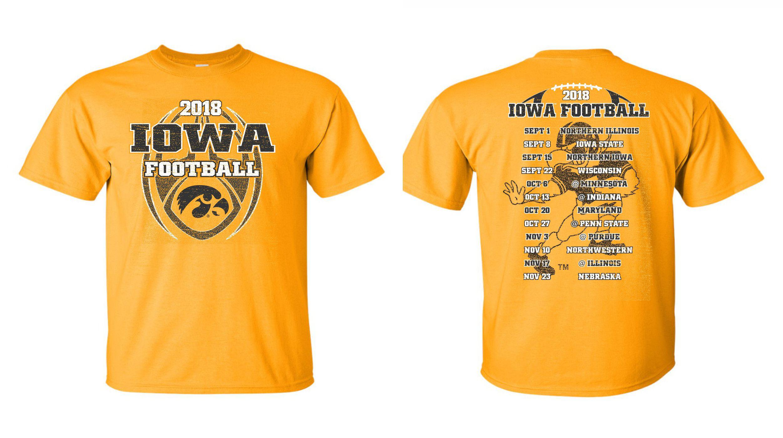 d55844e25f9 2018 Iowa Football Schedule Tee